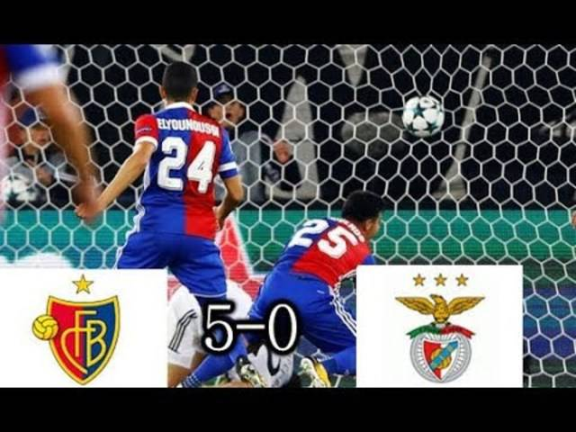 Basel vs Benfica, alle Highlights, 27-09-2017