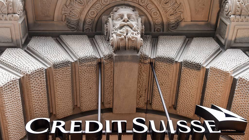 Credit Suisse schreibt weniger Verlust als erwartet