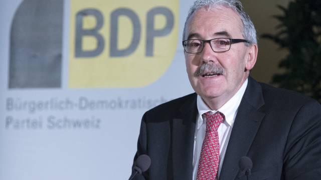 Der Berner BDP-Nationalrat Hans Grunder