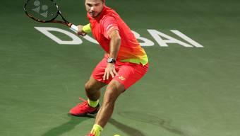 Stan Wawrinka steht in Dubai im Final