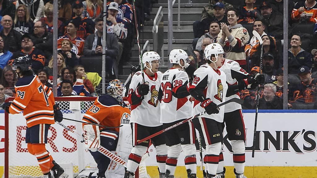 Für die Edmonton Oilers endet das Duell mit Ottawa in einer Enttäuschung