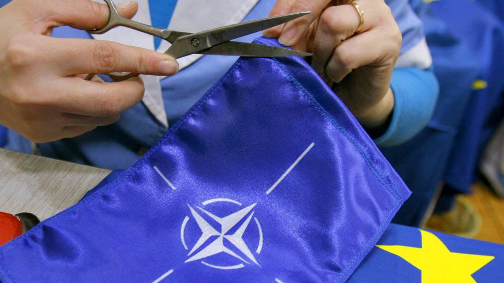 Weg frei für das dreissigste Mitglied: Die Nato-Staaten haben am Mittwoch das Beitrittsprotokoll mit der künftigen Republik Nordmazedonien unterzeichnet. (Themenbild)