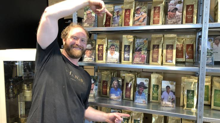 Philipp, Inhaber vom Home Barista Shop Aarau