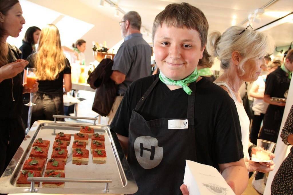 Thurgauer Schüler helfen beim Greentopf mit