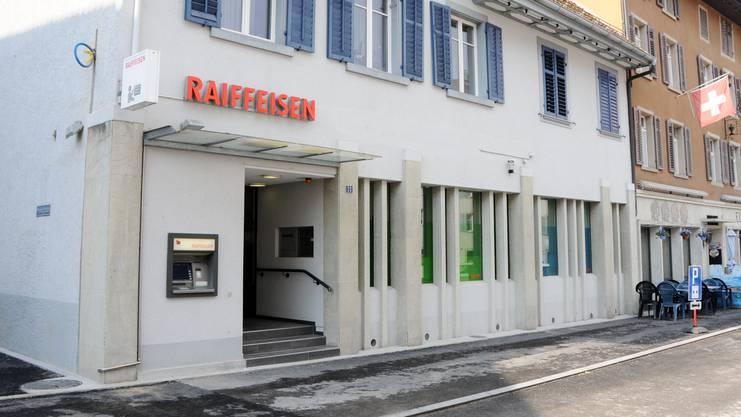 Die Raiffeisenbank-Filiale in Klingnau