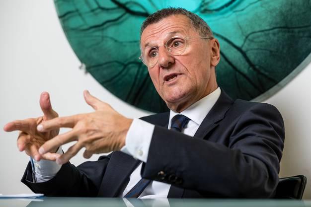 Jürg Bucher sorgt sich um die Postfinance, die unter ihm gross geworden ist.