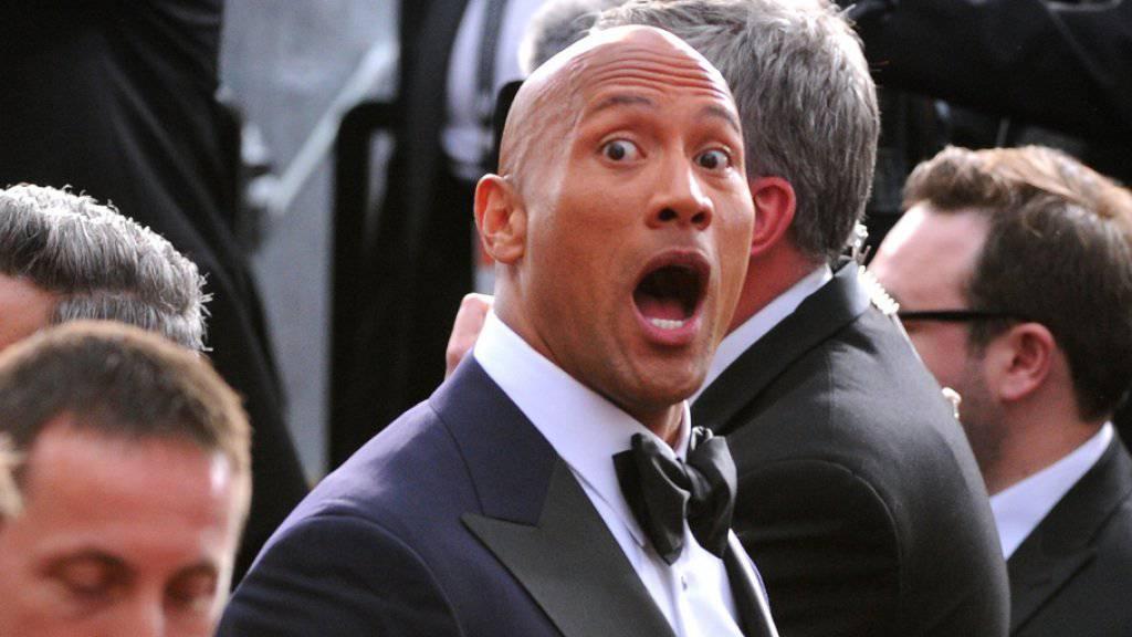 Dwayne Johnson staunt selber über sein gigantisches Einkommen als Schauspieler (Archiv)