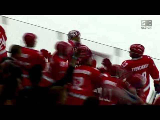 Jiri Polansky mit einem Traumtor in der Champions Hockey League