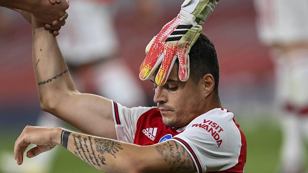 Arsenal bestätigt: Xhaka erlitt «erhebliche Innenbandverletzung»