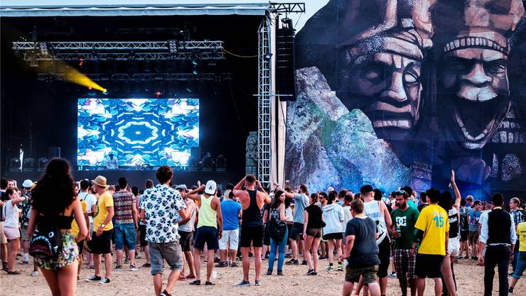 Pro Tag tummelten sich rund 3500 Besucher auf dem Festivalgelände.