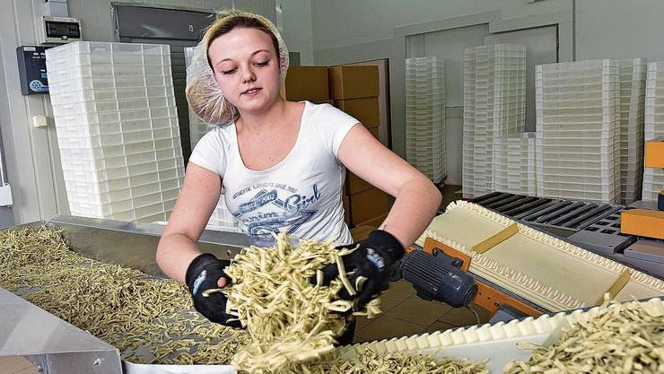Die Pasta- und Dörrfabrik Solomania hat sich in Welschenrohr etabliert.