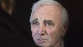 Charles Aznavour wirbt als gebürtiger Armenier für Genfer Denkmal