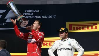 Sebastian Vettel gewinnt den GP von Ungarn – ein Sinnbild.