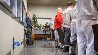 O Tannenbaum: Insassen des Zentralgefängnisses Lenzburg feierten am Freitag Weihnachten.