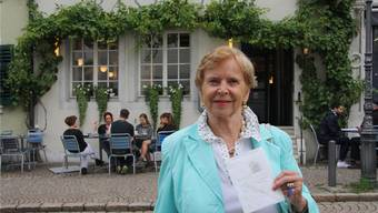 Ursula Huber freut sich über ein Nachtessen im Restaurant Baseltor.
