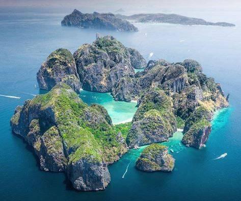 Die «Maya Bay» auch bekannt als «the beach» aus dem gleichnamigen Film bleibt vorläufig für Touristen gesperrt.