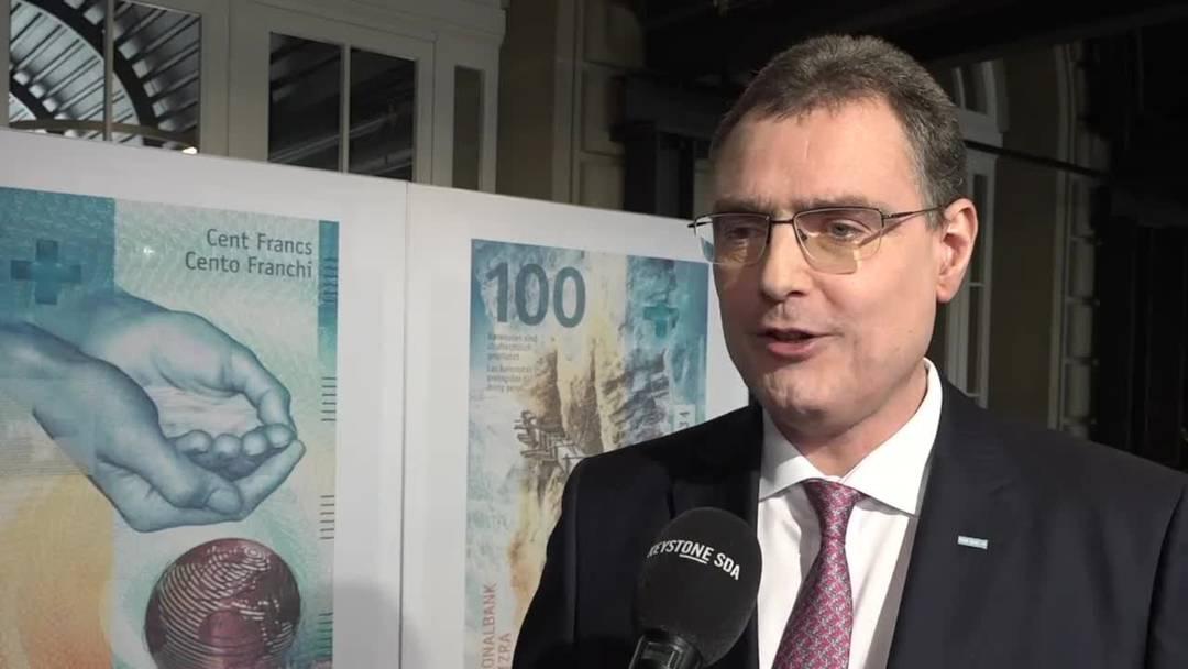 Thomas Jordan, Präsident der SNB, spricht im Interview über die letzte Note in Serie und die heutige Bedeutung des Bargeldes.