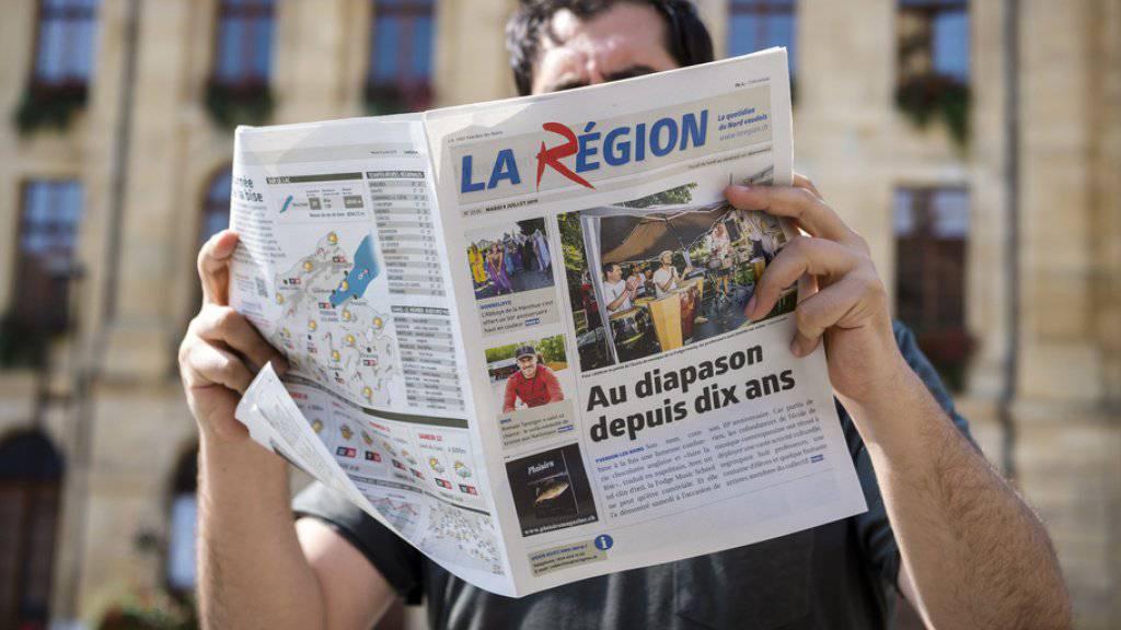 """Die Vorgänge bei der Waadtländer Lokalzeitung """"La Région"""" werfen hohe Wellen. Über 800 Unterzeichner missbilligen die """"verschleierte Entlassung"""" in einer Petition an den Verwaltungsrat."""