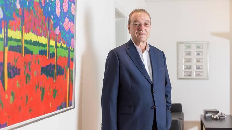 Kunstliebhaber Oswald Grübel in seinem Zürcher Büro: «Ich wollte immer verstehen, weshalb etwas passiert ist.»