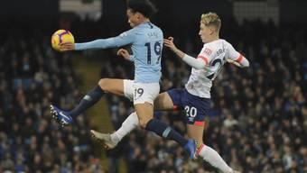 Manchester City mit Leroy Sané feierte den sechsten Sieg in Folge in der Premier League und festigte damit seine Tabellenführung