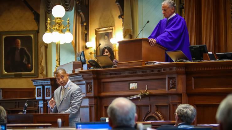 Während der Debatte im Senat von South Carolina