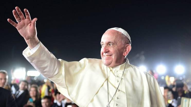 Engagement für Frieden, Verständigung und Barmherzigkeit: Papst Franziskus.