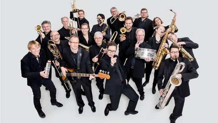 Die Big Band Olten lädt zum Saisonstart ins Stadttheater. Bild: zvg