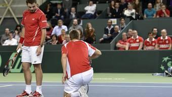 Nach über 7 Stunden: Wawrinka und Chiudinelli verlieren Rekord-Match gegen Tschechen