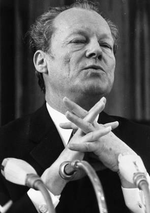 In den 1970ern unter Kanzler Willy Brandt war die Welt der Genossen noch in Ordnung.