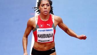 Mujinga Kambundji unterstrich auch an den Weltmeisterschaften in Birmingham ihre Topform