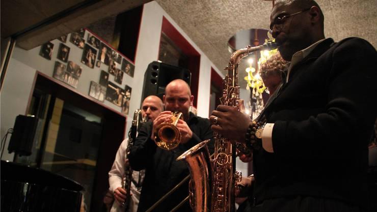 Internationale Jazz-Musiker spielten im Aarauer Restaurant Einstein