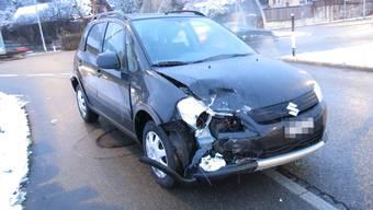 Auffahrkolision in Brugg mit alkoholisiertem Unfallfahrer