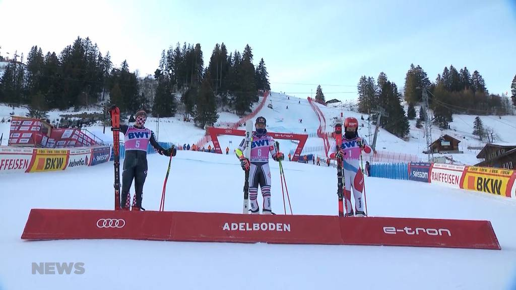 Weltcup Adelboden: Zweiter Tag, zweiter Schweizer Podestplatz