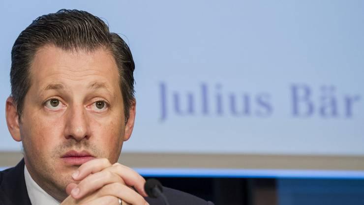 Boris Collardi von der Julius Bär-Bank.