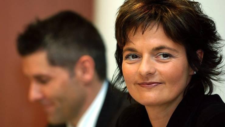 Alt-Bundesrätin Ruth Metzler