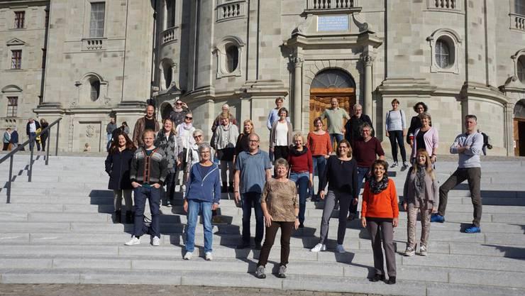 Die für Oktober 2020 geplante Chorreise nach Irland wurde nach Einsiedeln umorganisiert.