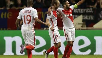 Falcao (rechts) und Monaco landen einen Kantersieg