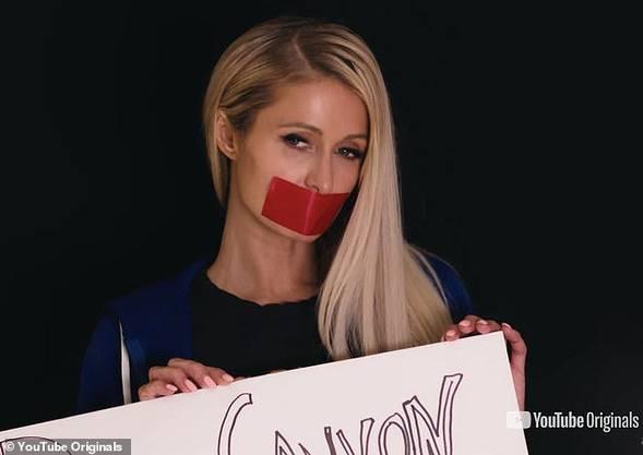 Aktion von Paris Hilton will das Schweigen brechen, und macht die Erniedrigungen und Missbräuche an ihrer ehemaligen Schule öffentlich.