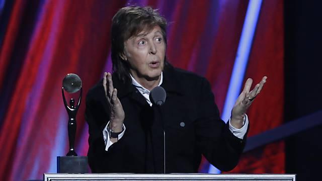 Paul McCartney gehört zu den reichsten Briten (Archiv)
