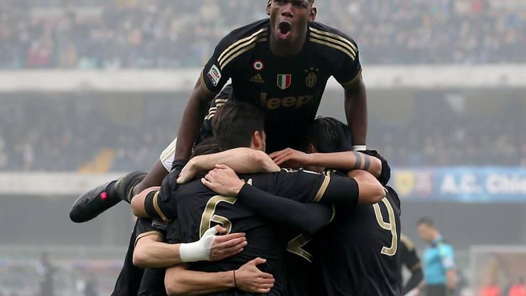 Paul Pogba und Juventus Turin sind momentan nicht zu stoppen