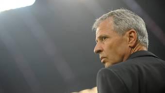 Lucien Favre bleibt der Borussia aus Mönchengladbach erhalten