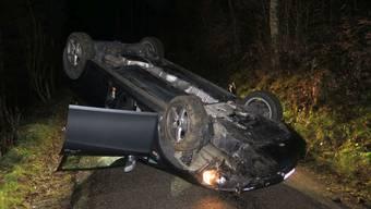 Fahrer und Beifahrer blieben unverletzt.
