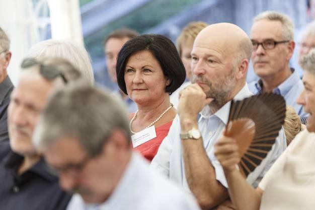 Marianne Meister im Publikum
