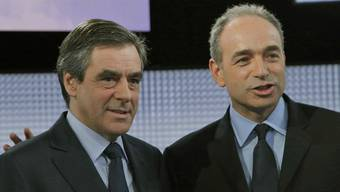 Jean-François Copé (r) und François Fillon (Archiv)