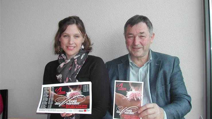 Die nächste Produktion von Melanie Gehrig und ihrem Vater Hermann ist die Operette «Der Vogelhändler».