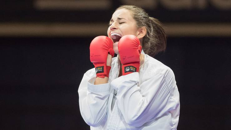 Elena Quirici belegte in Tokio beim K1-Premier-League-Turnier den zweiten Platz.