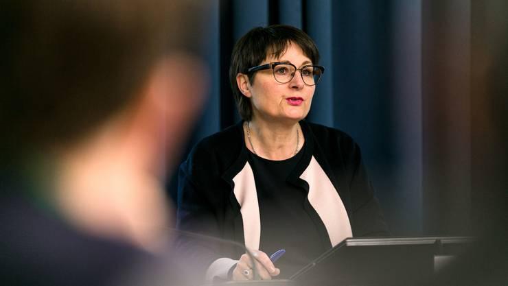 Franziska Roth verärgerte mit ihrer Pressekonferenz zur Untersuchung zum Kantonsspital Aarau die Gesundheitspolitiker.