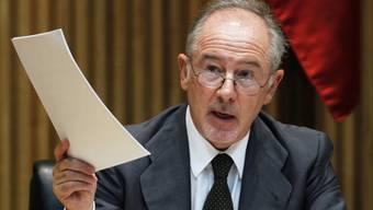 Rodrigo Rato im spanischen Parlament 2012 (Archiv)