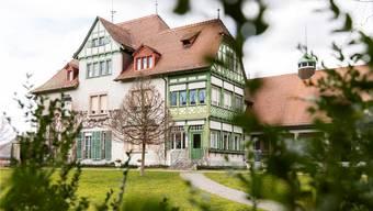 Seit 30 Jahren ein Museum: die Villa Langmatt in Baden. Bild: Severin Bigler (5. März 2019)