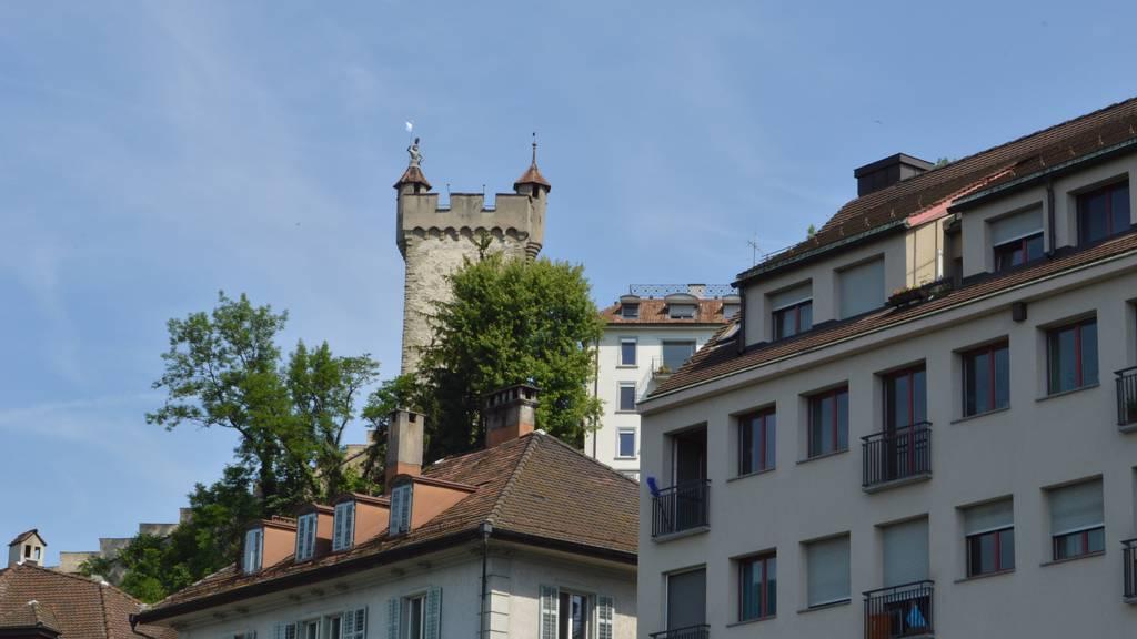 Die Frage aller Fragen auf dem Männliturm in Luzern ist beliebt
